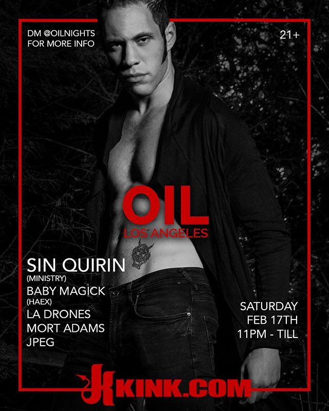 Come party with me and all the amazing lineup at @oilnights666 tomorrow night !! 🍾 It's going to be a hell of a night!! 👹🔥