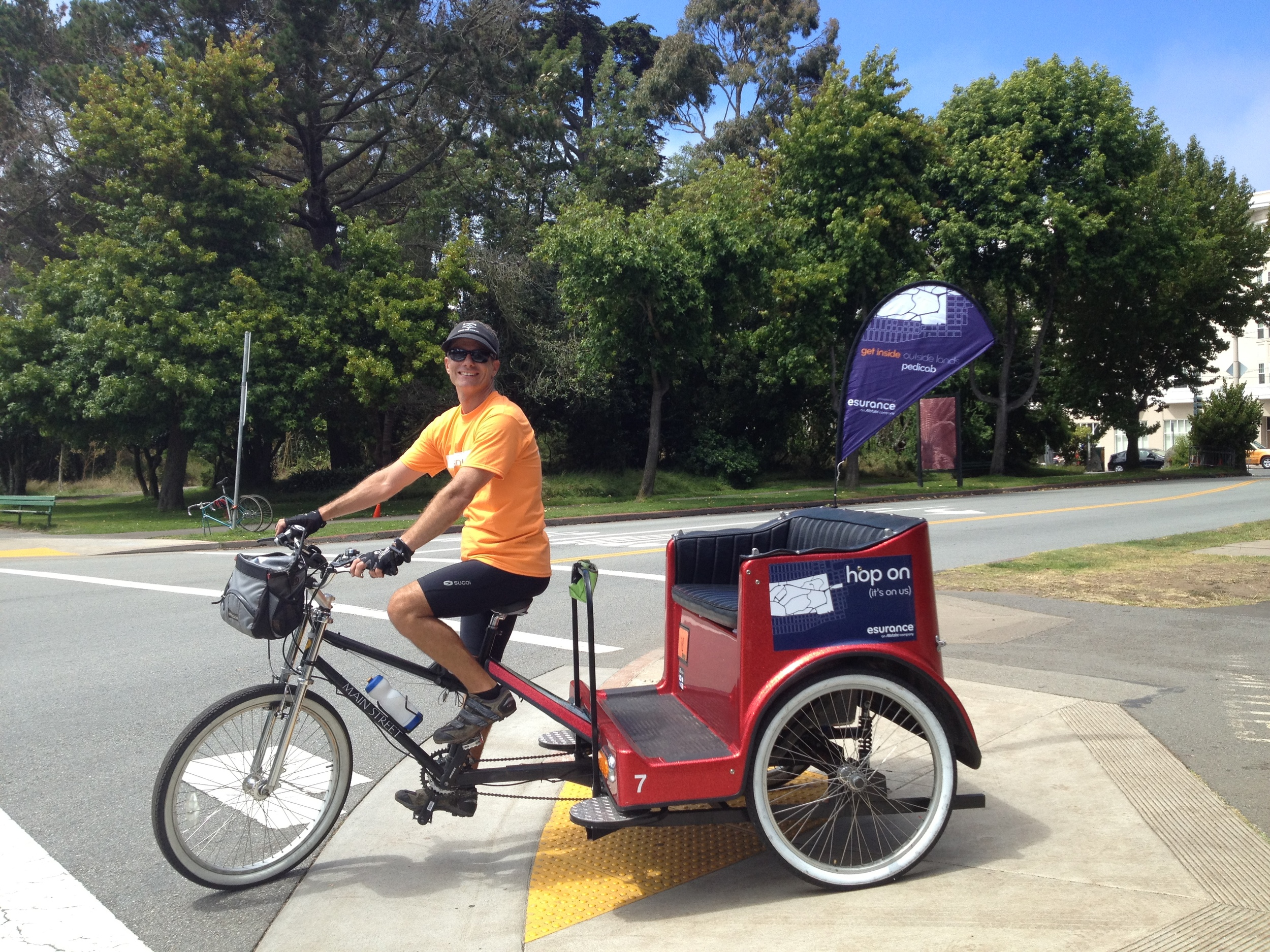 Esurance Pedicabs at Outside Lands 2012 (2).jpeg
