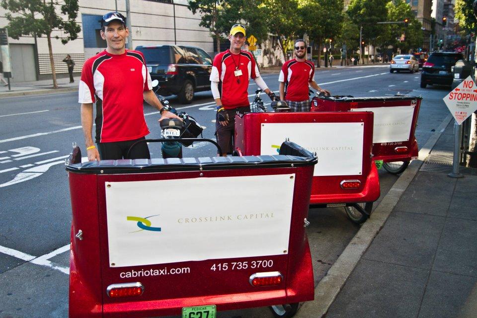 A Pedicab Event for Crosslink Capital