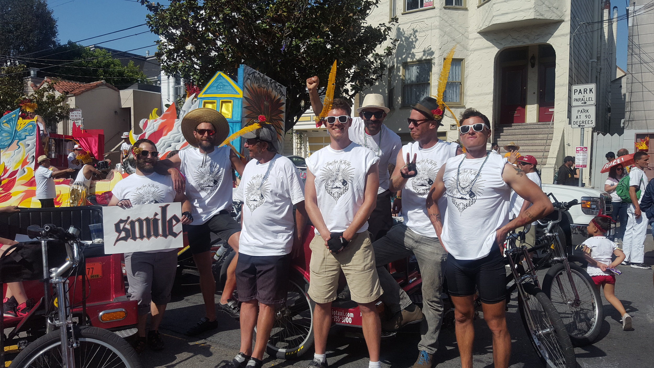Cabrio's Proud Crew:Keith Sherman, Will LaBarge, Kevin Manning, Brady Bakay, Giovanny Roa, Bryan Maddan, Carl Patrick