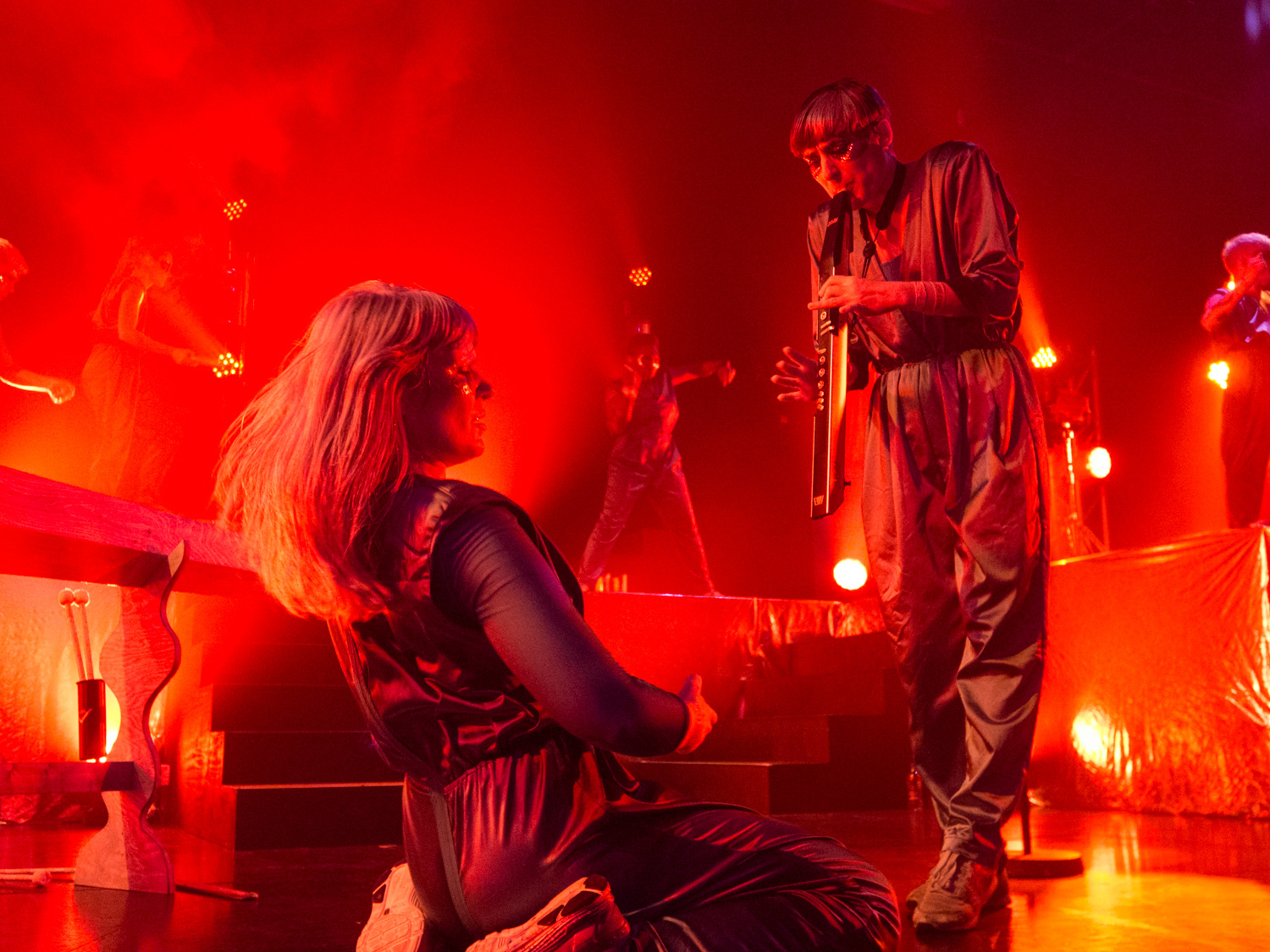 The Knife performs at Harpa's Silfurberg
