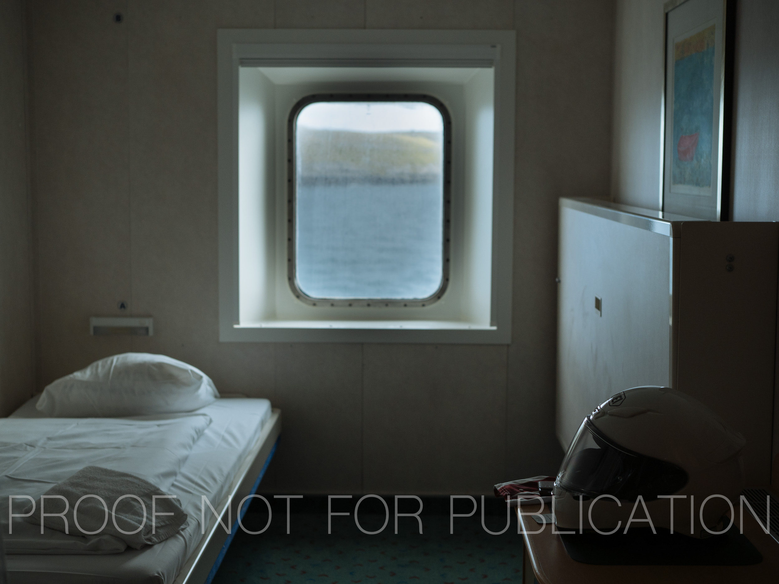 Four berth cabin aboard the MS Norröna