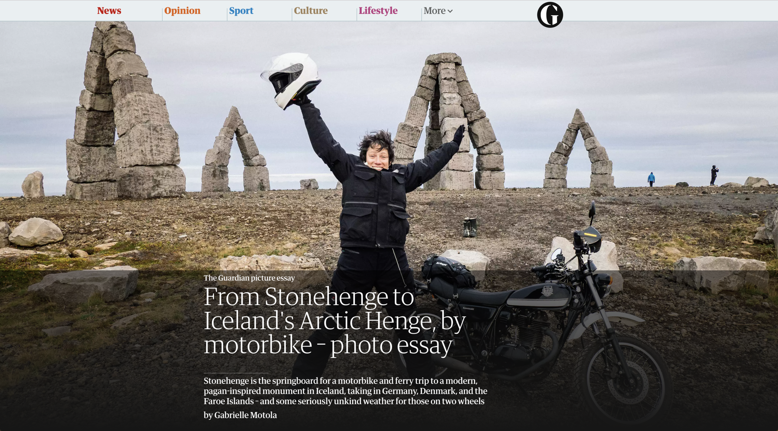 Henge to Henge: Guardian Travel Picture Essay