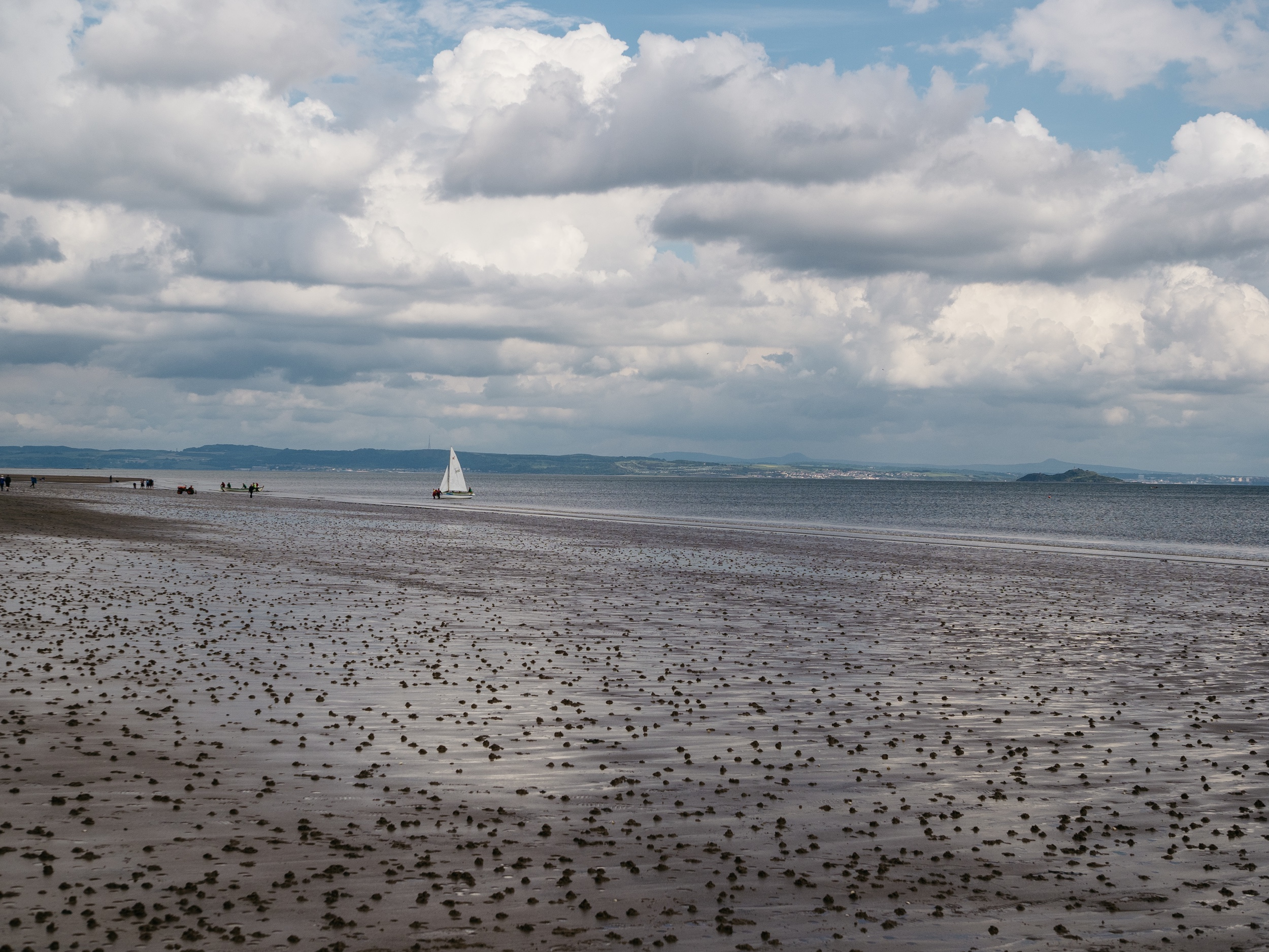 Portobello Beach, looking towards Inverness