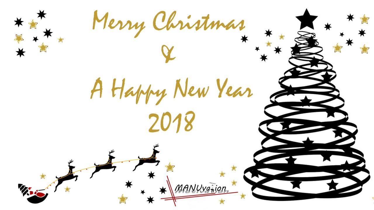 Frohe Weihnachten Liebe.Frohe Weihnachten Alles Liebe Im Neuen Jahr 2018 Manuela