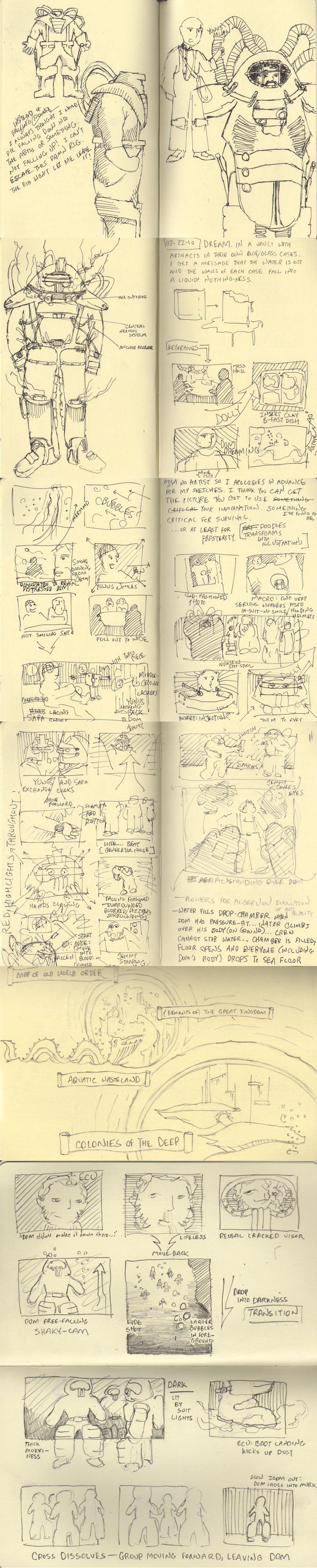 Memoirs of the Deep Renderings by James Loizou