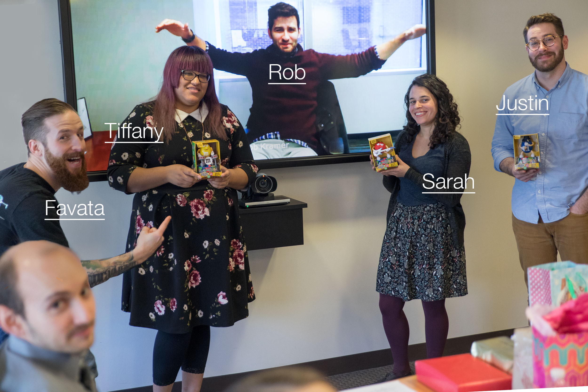 Sarah produced the series with Justin on content and Tiffany and Rob on motion.Favata creative directed, and I photobombed throughout.