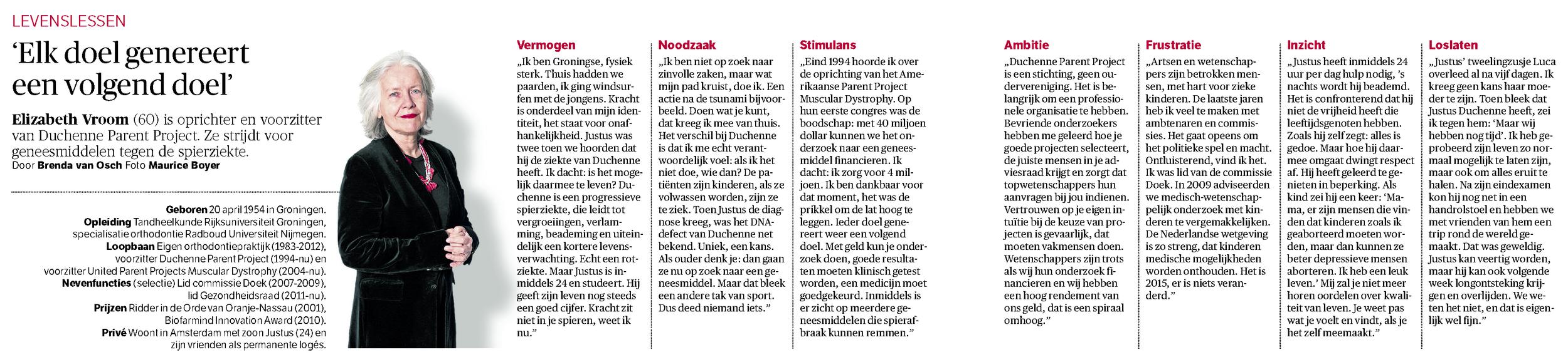 NRC Handelsblad - 10 januari 2015