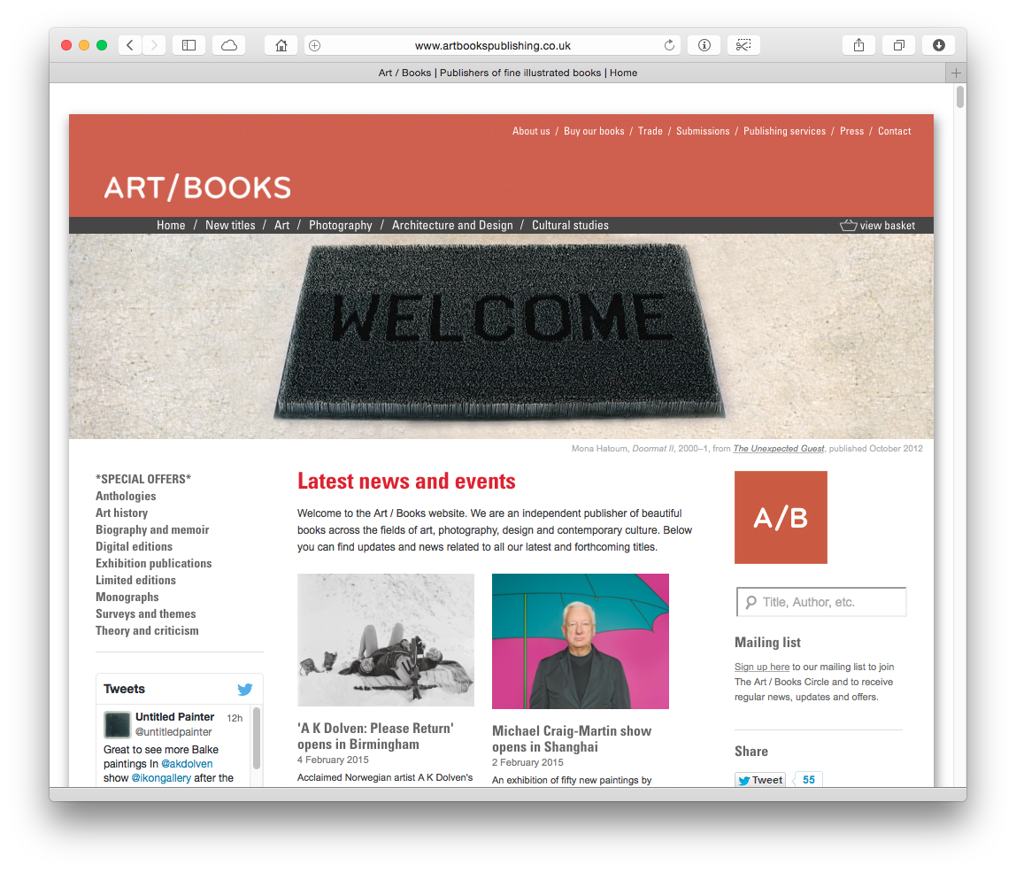 Art / Books publishing