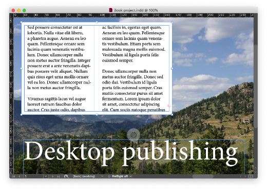 Design and publishing