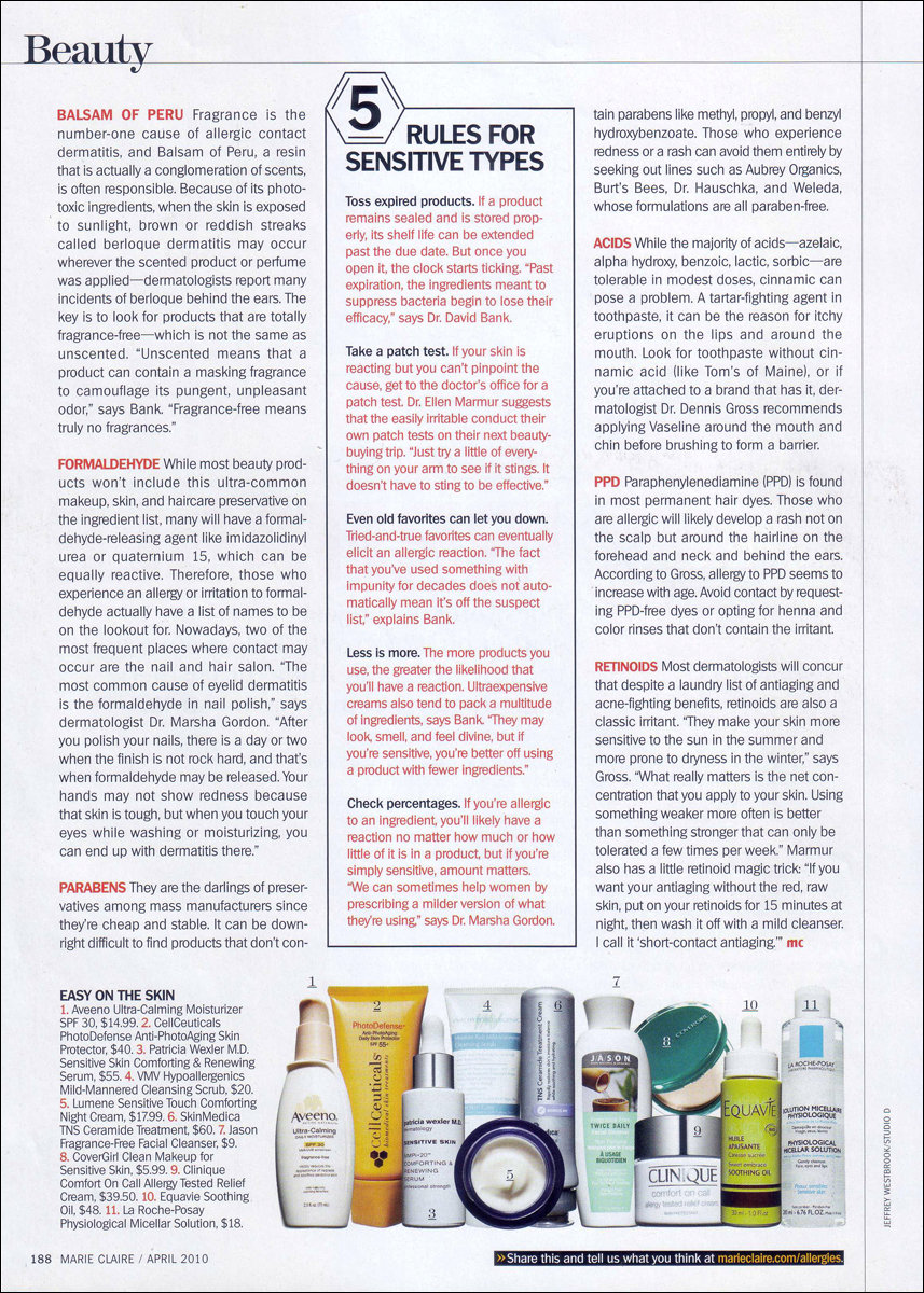 Marie Claire- Getting Irritable pg 3.jpg