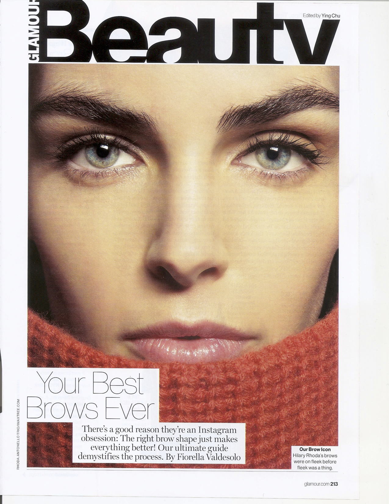 Glamour- Your Best Brows Ever, October 2015 pg1.jpg