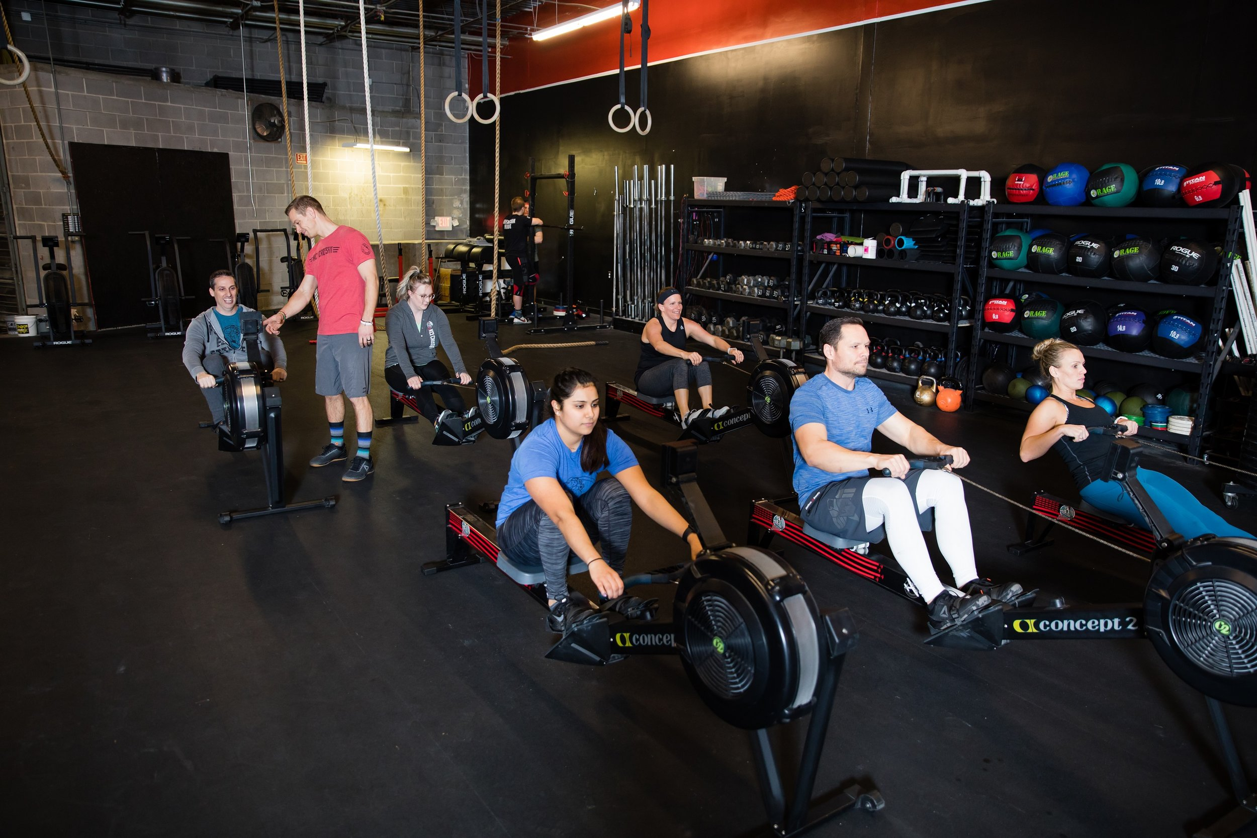Our Mission: - To provide a positive and challenging environment that promotes health, fitness, and community; to ensure that standards for elite fitness are upheld through proper coaching, strong programming, and adherence to CrossFit standards; to strive for excellence at all times, as coaches, athletes and a community.Our values are simple: Gratitude & Grit.