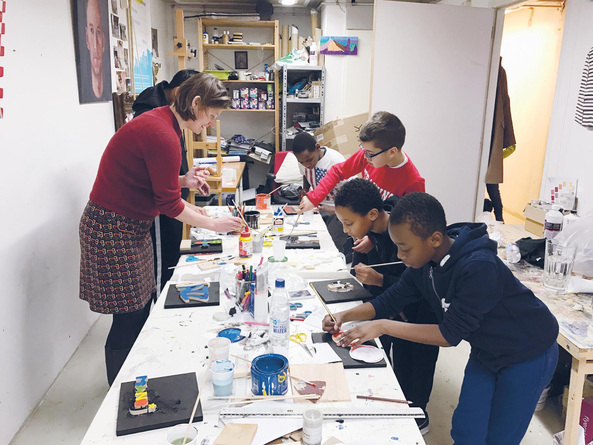 Workshop met  IMC Weekendschool