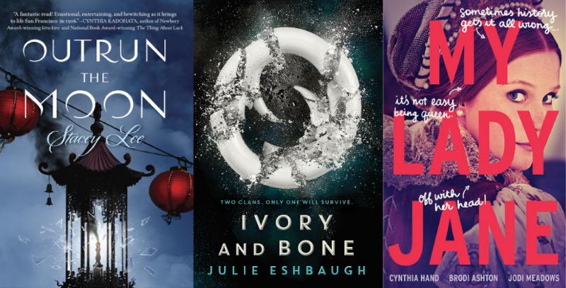 Win a pre-order of all three books!
