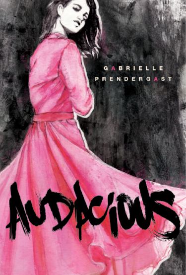 The beautiful cover of AUDACIOUS!