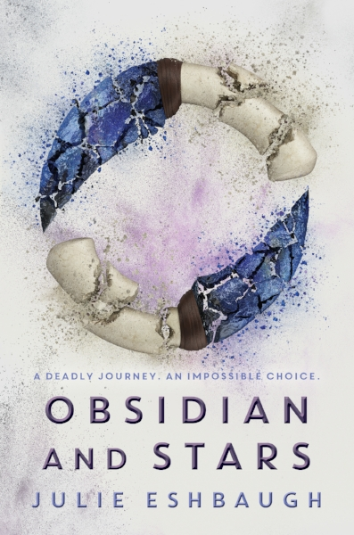 Obsidian and Stars Postcard (front)