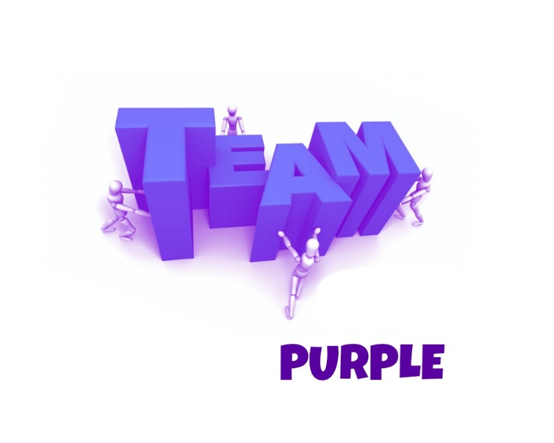 I'm on Team Purple this round!