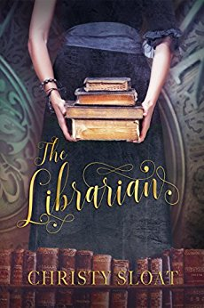The beautiful cover of  The Librarian