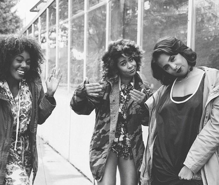 Hella Black Hella Seattle: Jazz, Eula and Alaina (from left to right). Photo Courtesy of Hella Black Hella Seattle.