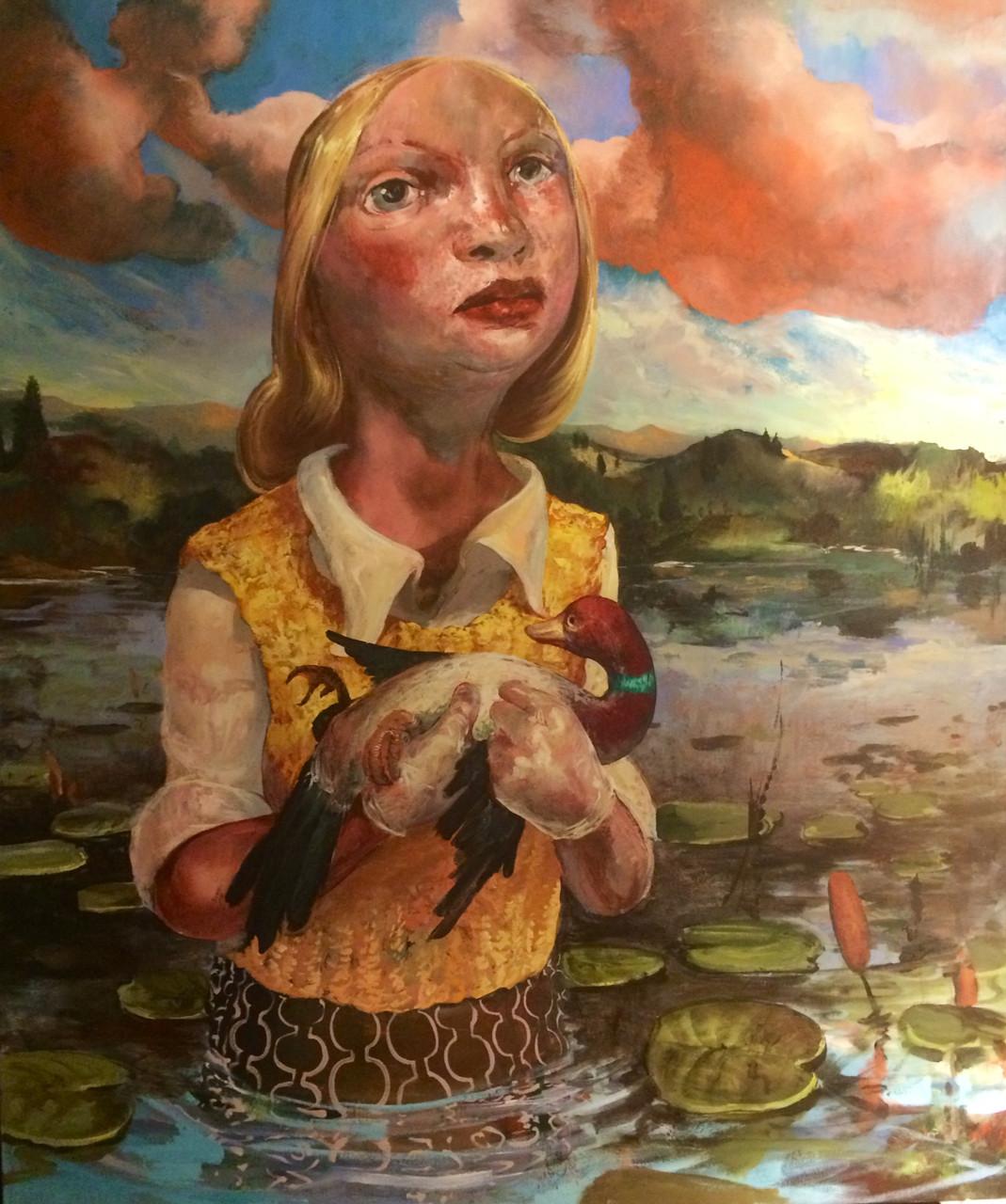 Big Danger , 2015 Acrylic on Canvas 72 x 60 in.