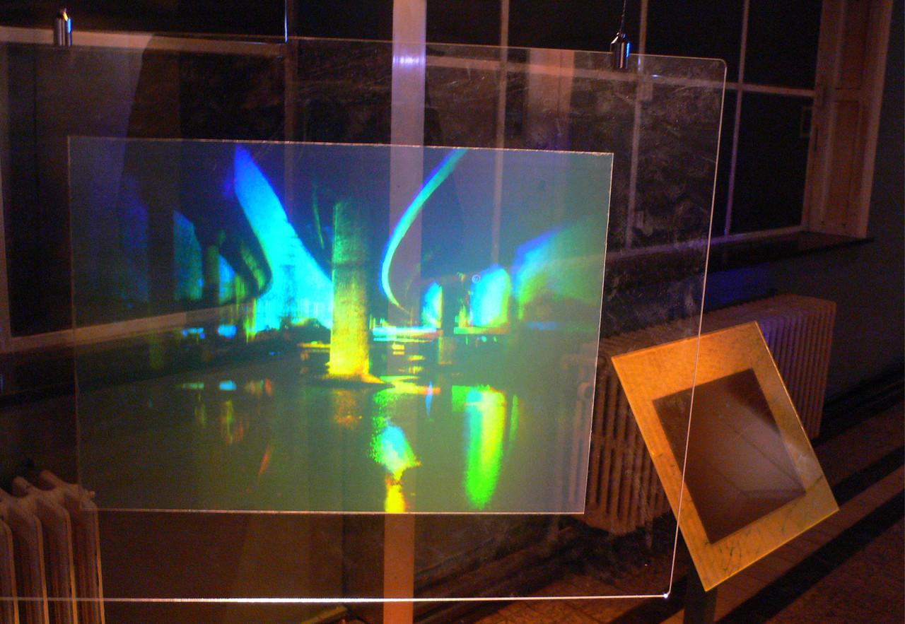 Under City Link , 2007; 1/3 Sliver-Halide print on Plexiglass 360 x 490 mm
