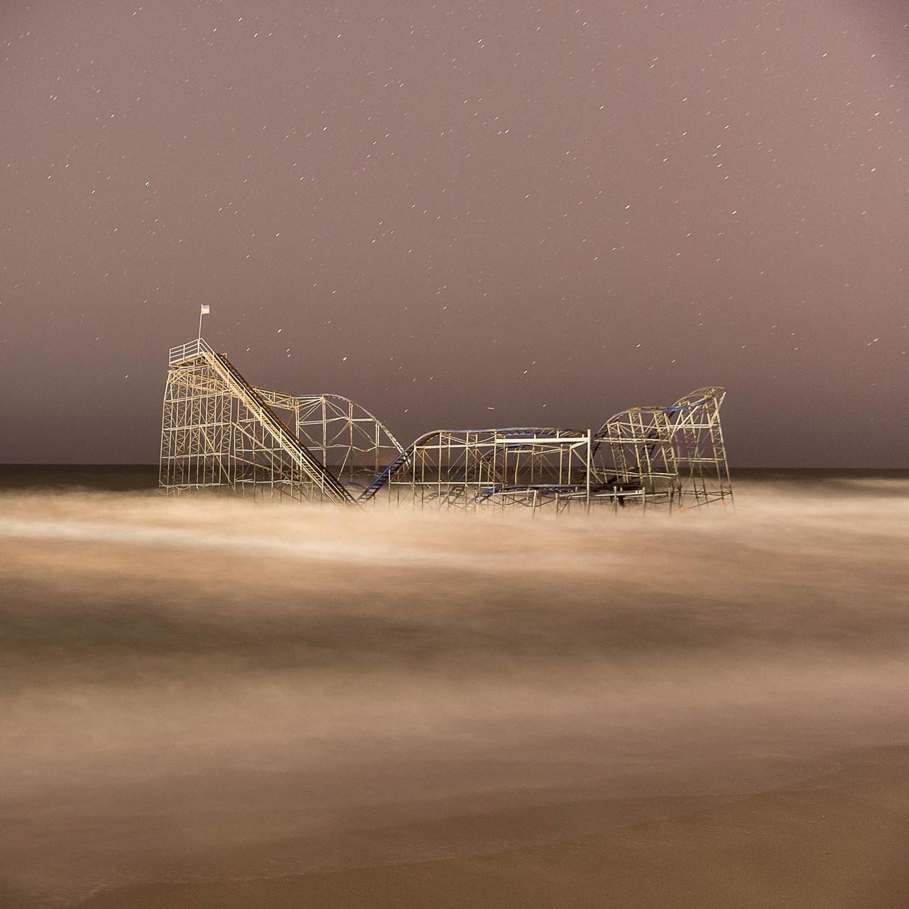 Ocean Roller Coaster , 2013 C Print 15 x 15 in.