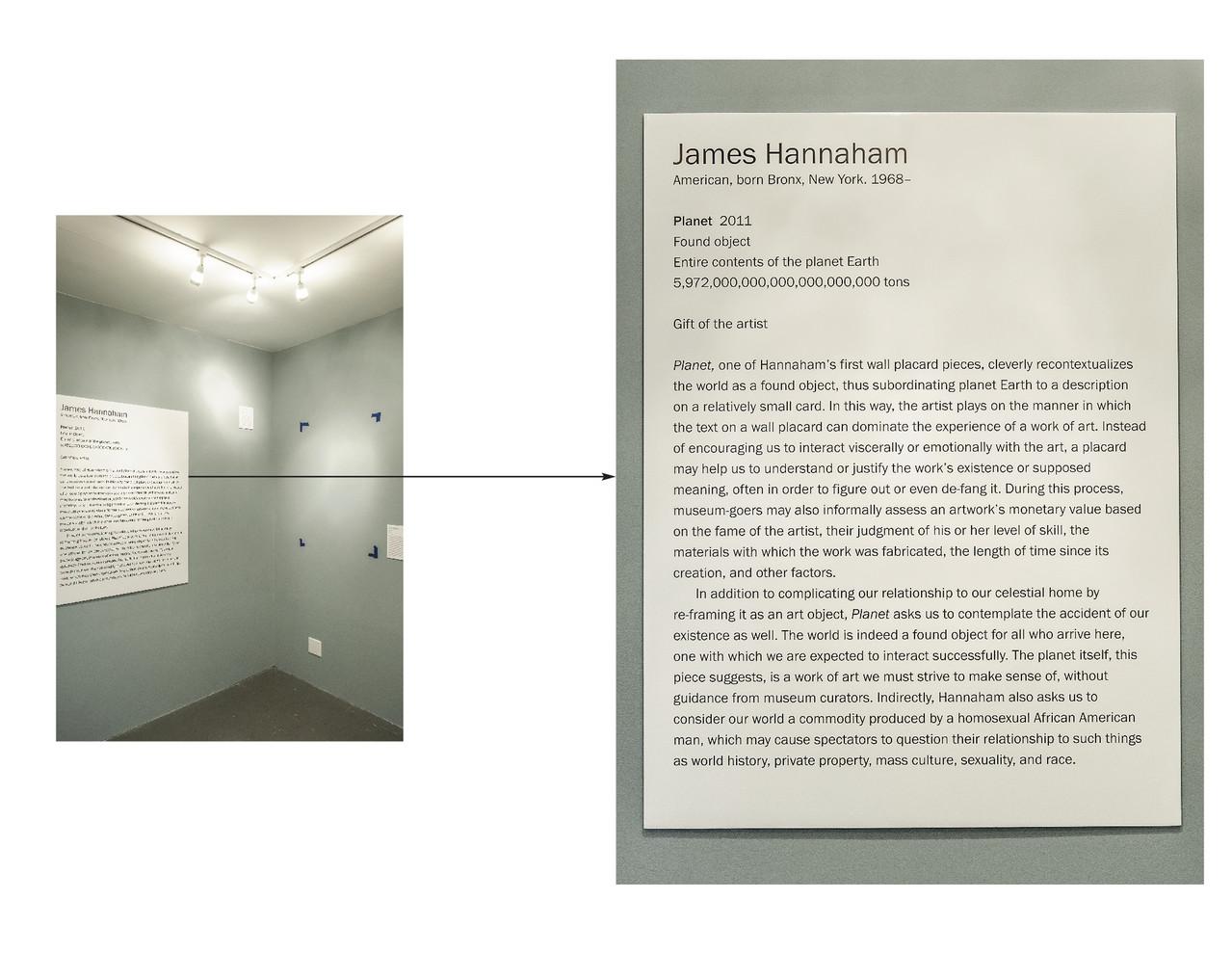 Planet , 2011, Edition 1 of 2 Foam Board, Rhetoric 36 x 46 in.