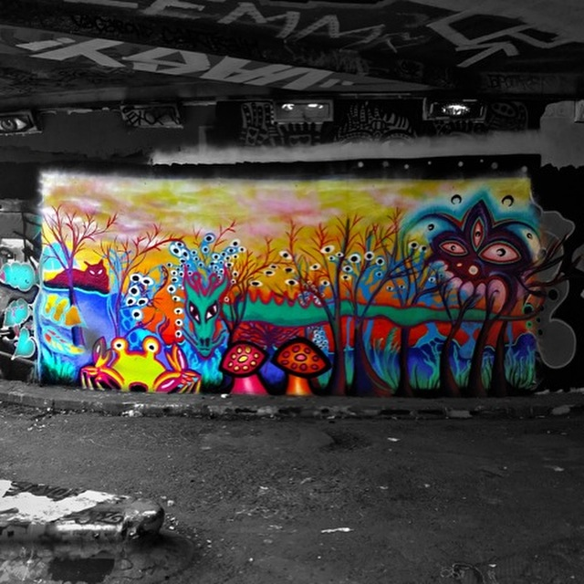 Leake Street (2016) w Carlos Cashiero and Orbit