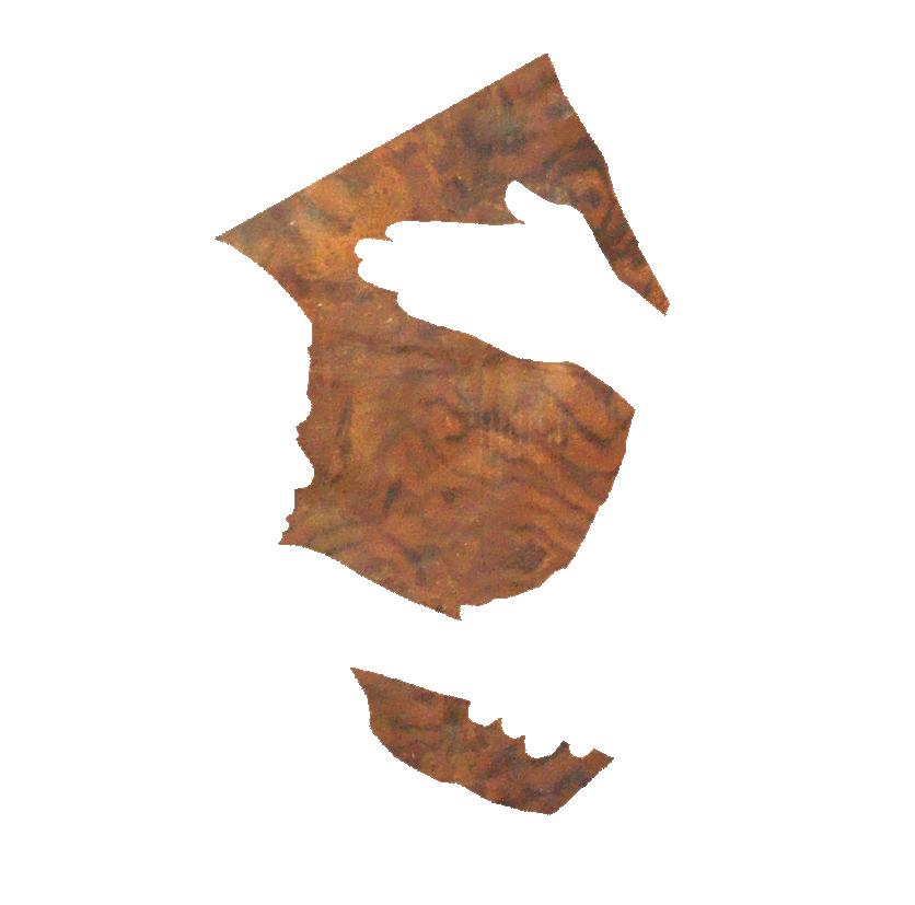 SETH PRICE, UNTITLED, 2008, CARPATHIAN ELM WOOD AND DIAMOND ACRYLIC PLASTIC, 41 X 24.5 IN  COURTESY PETZEL,NY