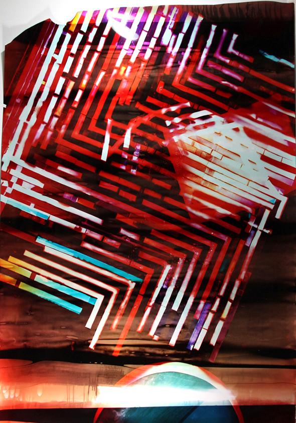 MARIAH ROBERTSON  29, 2011  UNIQUE COLOR PRINT  79 X 50 IN  200 X 127 CM  20,000 GBP