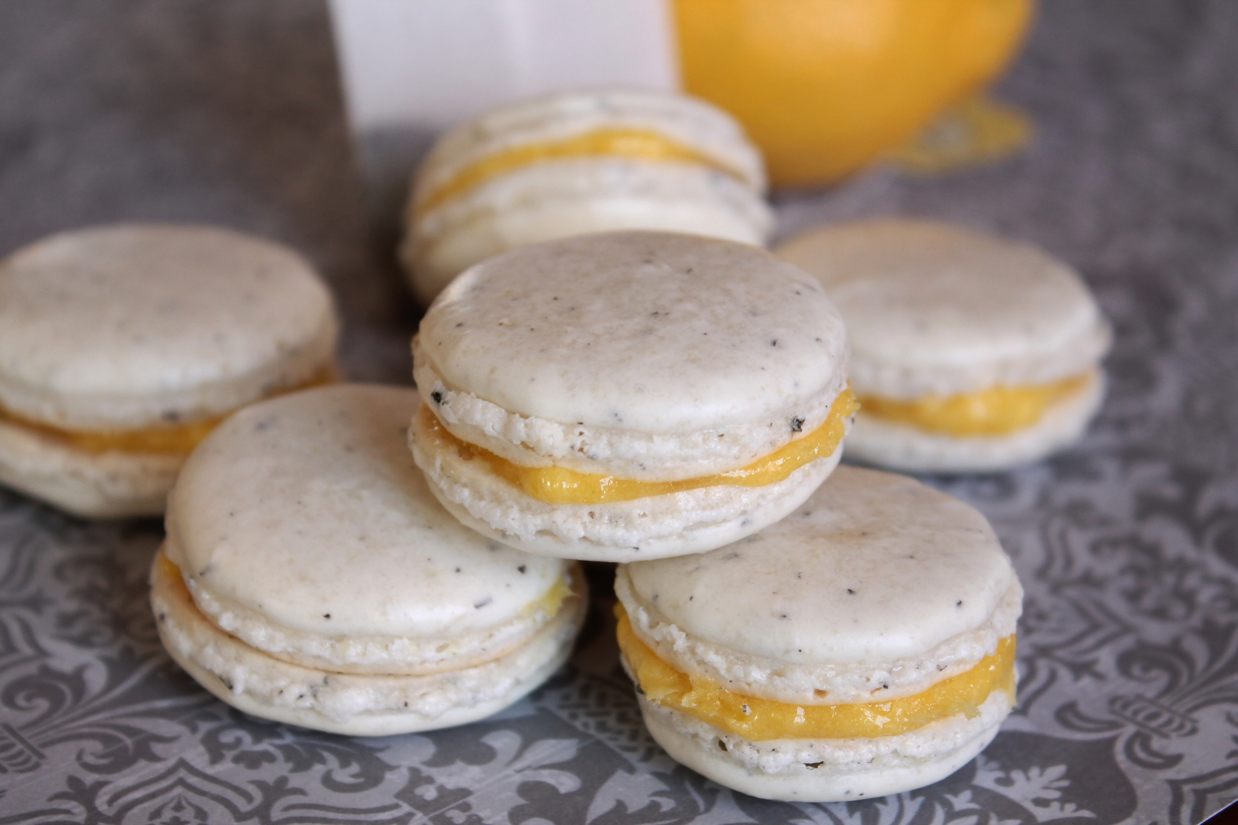 French Macarons (Earl Grey & Lemon) 013.JPG