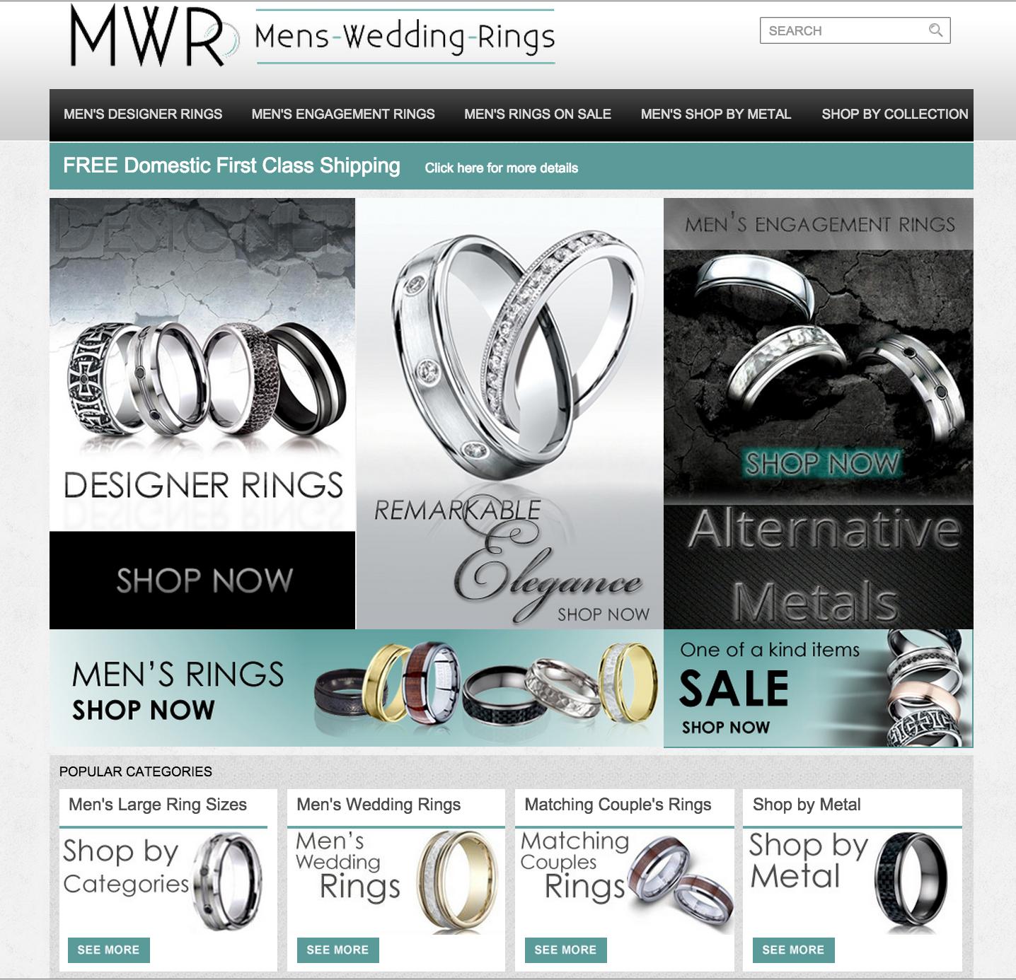 Mens-Wedding-Rings.com