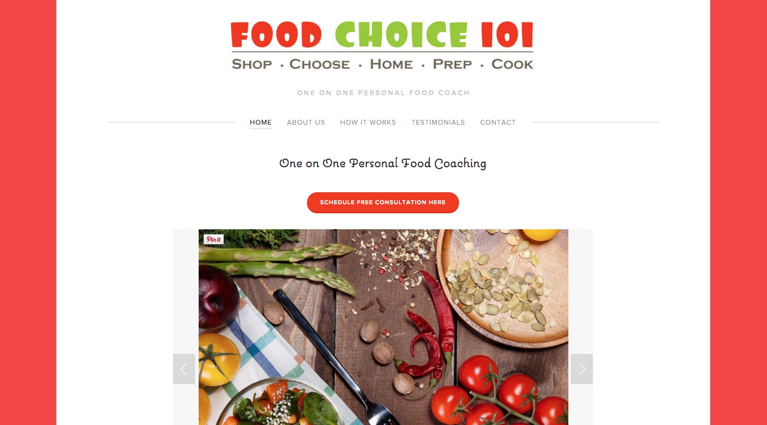 Food Choice 101