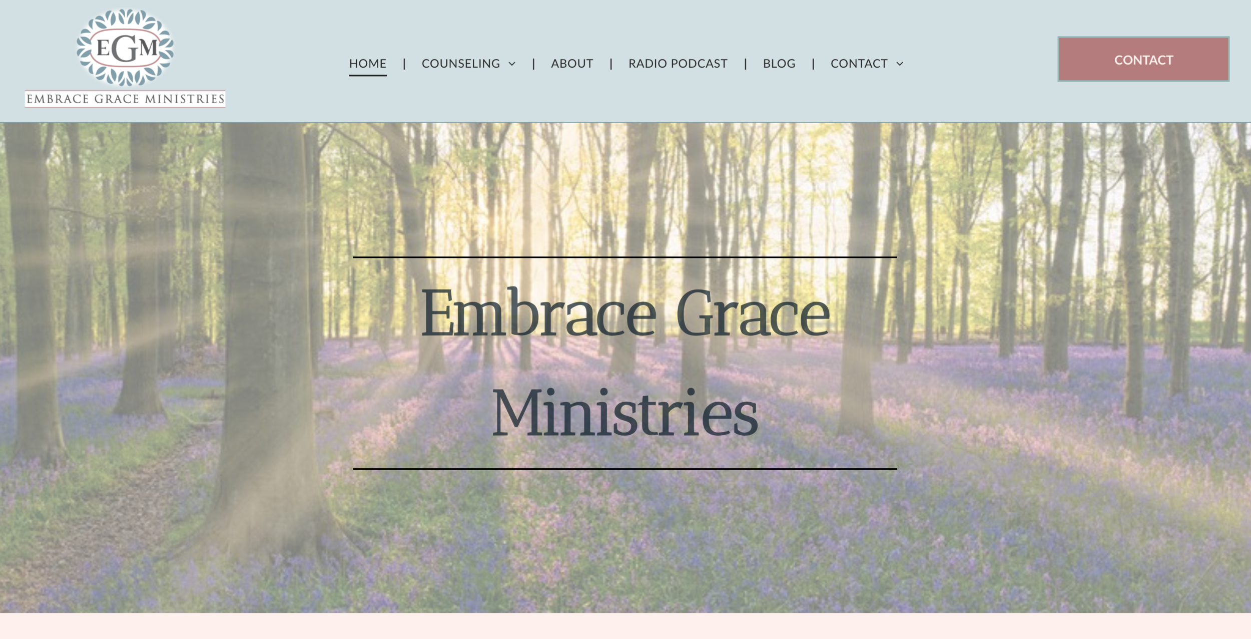 Embrace Grace Ministries - Leanne Dalpe - Derry, NH  |  Embrace Grace RadioEmbrace Grace Ministries was born out of a deep desire to show the love of Christ by supporting, equipping and enabling individuals, couples and families to live victorious Christian lives. I endeavor through counseling, teaching, writing, and speaking, to encourage people to draw near to the Lord, trust Him, rest in His love, and honor and glorify Him with their lives. This is a ministry founded on the faithfulness of our Lord Jesus Christ, and is one of hope, faith, love, compassion, grace, and mercy.