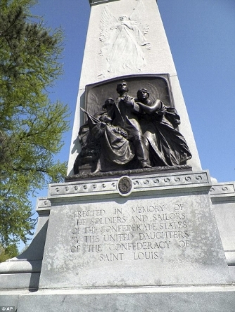 Monument moved from Forest Park in St. Louis to the Missouri Civil War Museum at Jefferson Barracks.