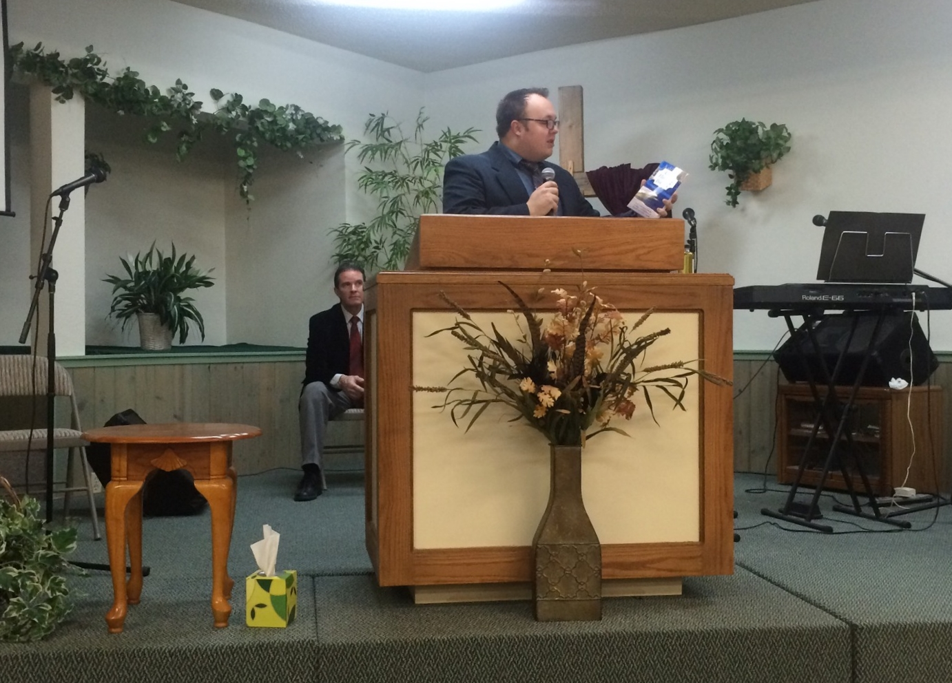 Pastor Nelson and Bro Seagraves