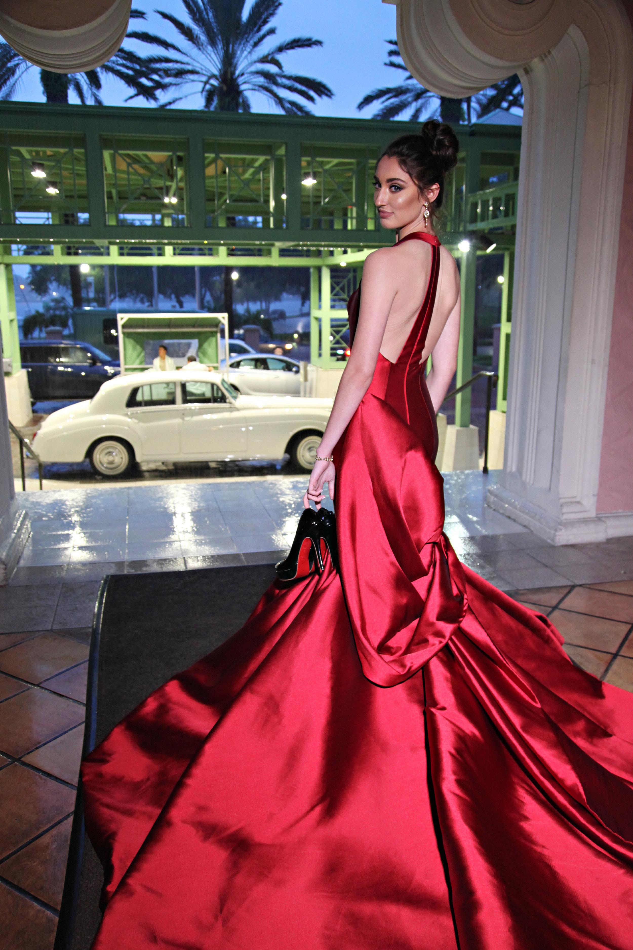 Red Evening Gown Vinoy Wedding.jpg