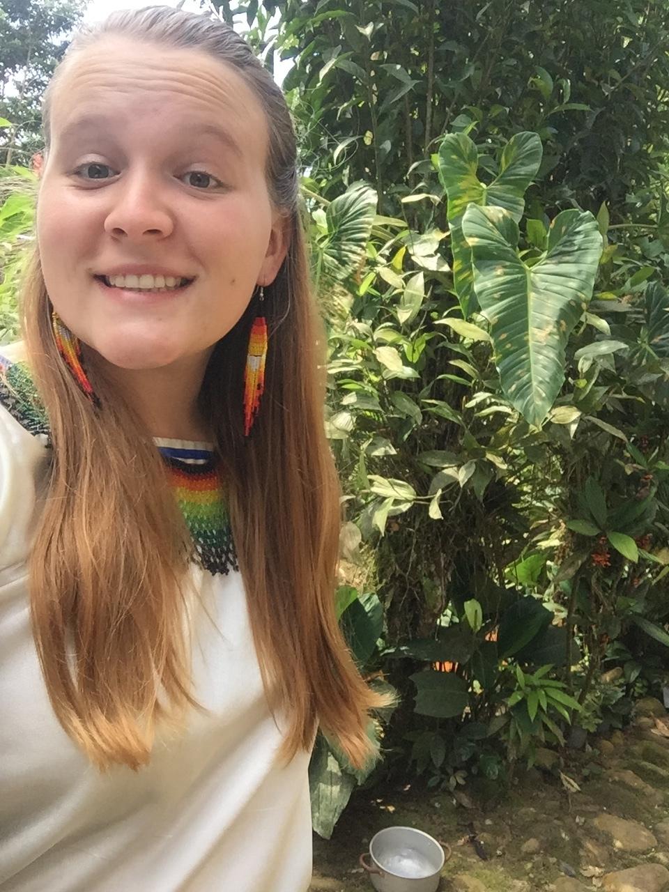 Jane in Ecuador