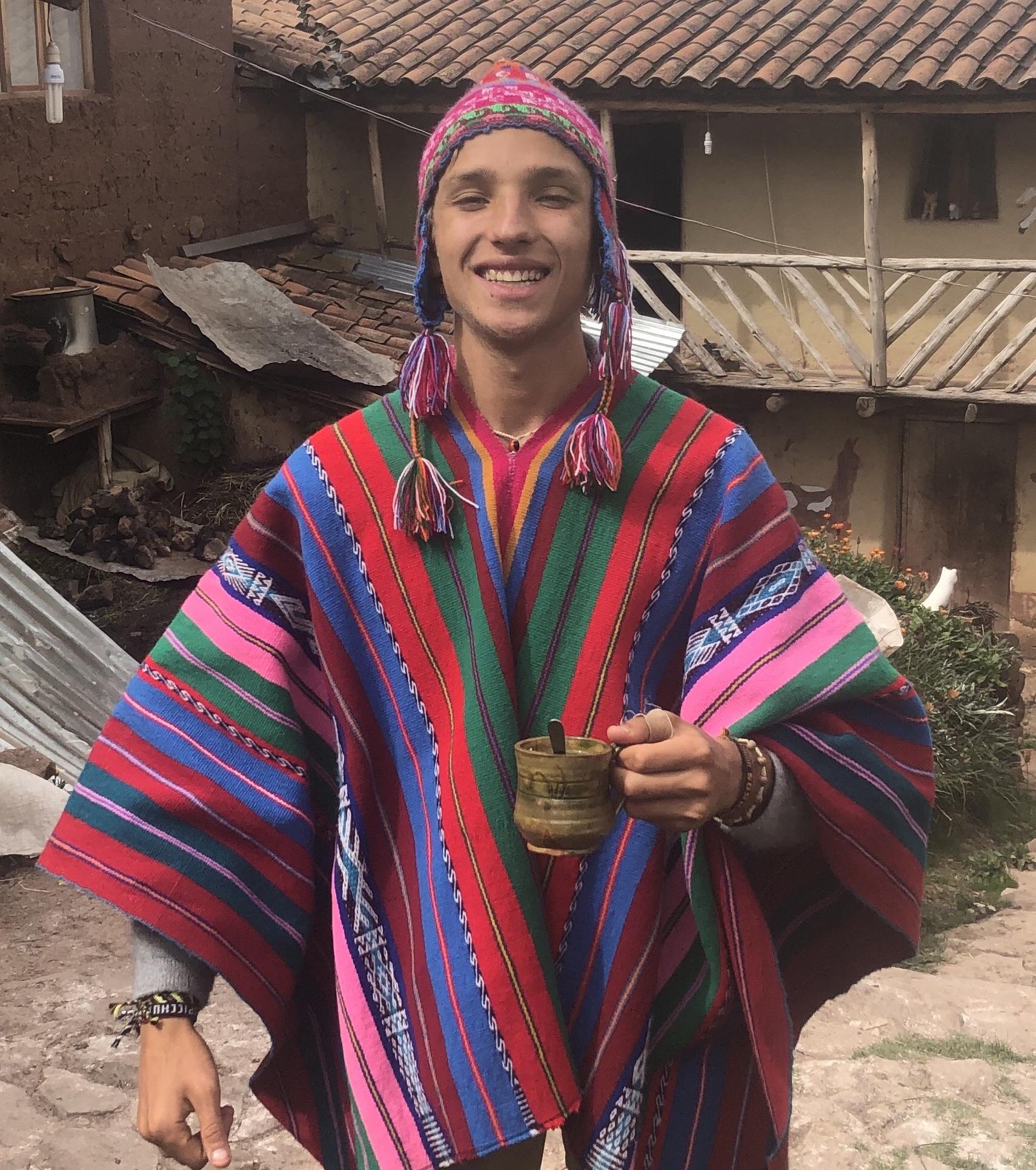 Nick in Peru