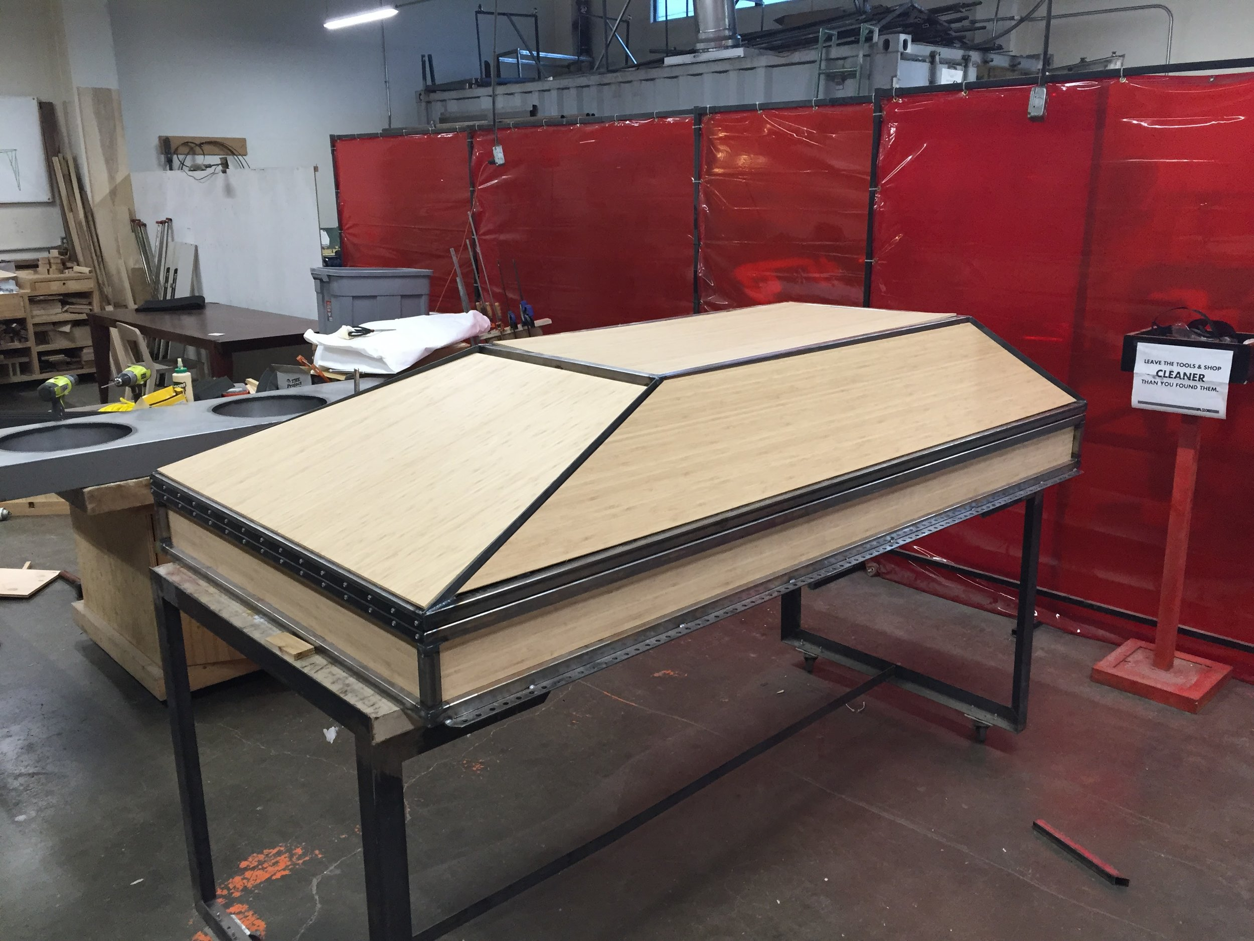 All panels dry fit