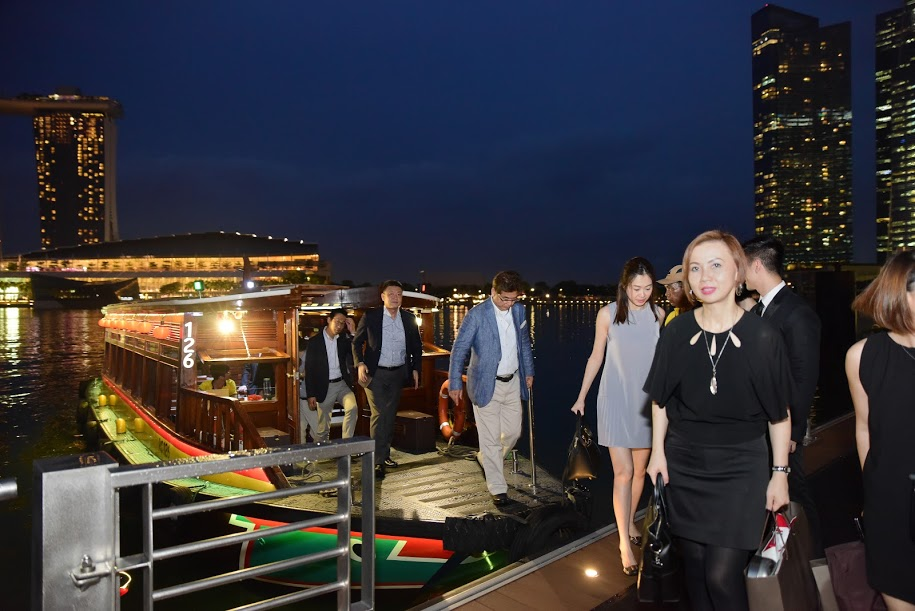 Chanel Travel & Retail 2016 (2)- Cruising down to the venue #rideinstyle #bumboat.JPG