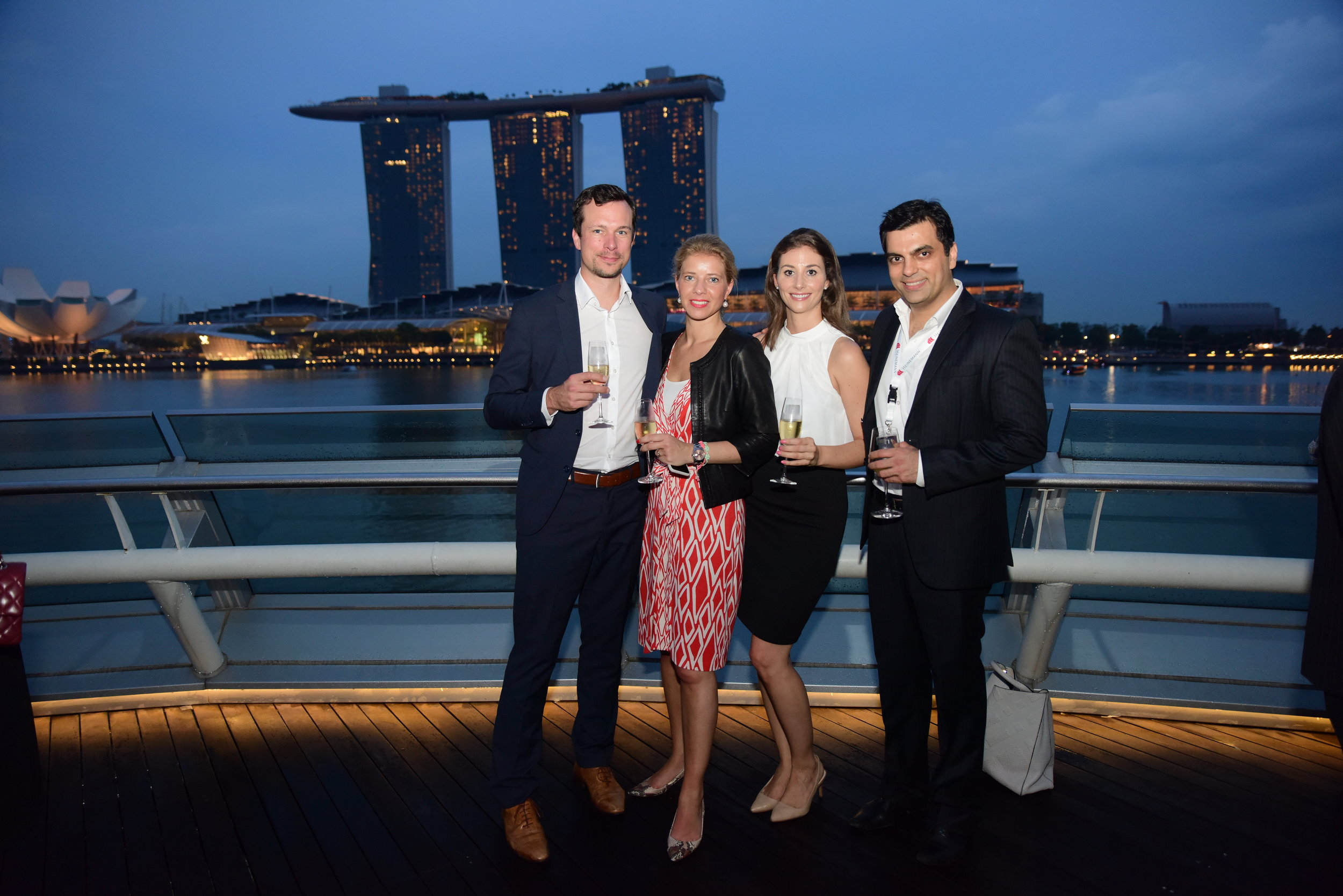 Chanel Travel & Retail 2016- Cocktail Reception with stunning views of the iconic #marinabaysands.JPG