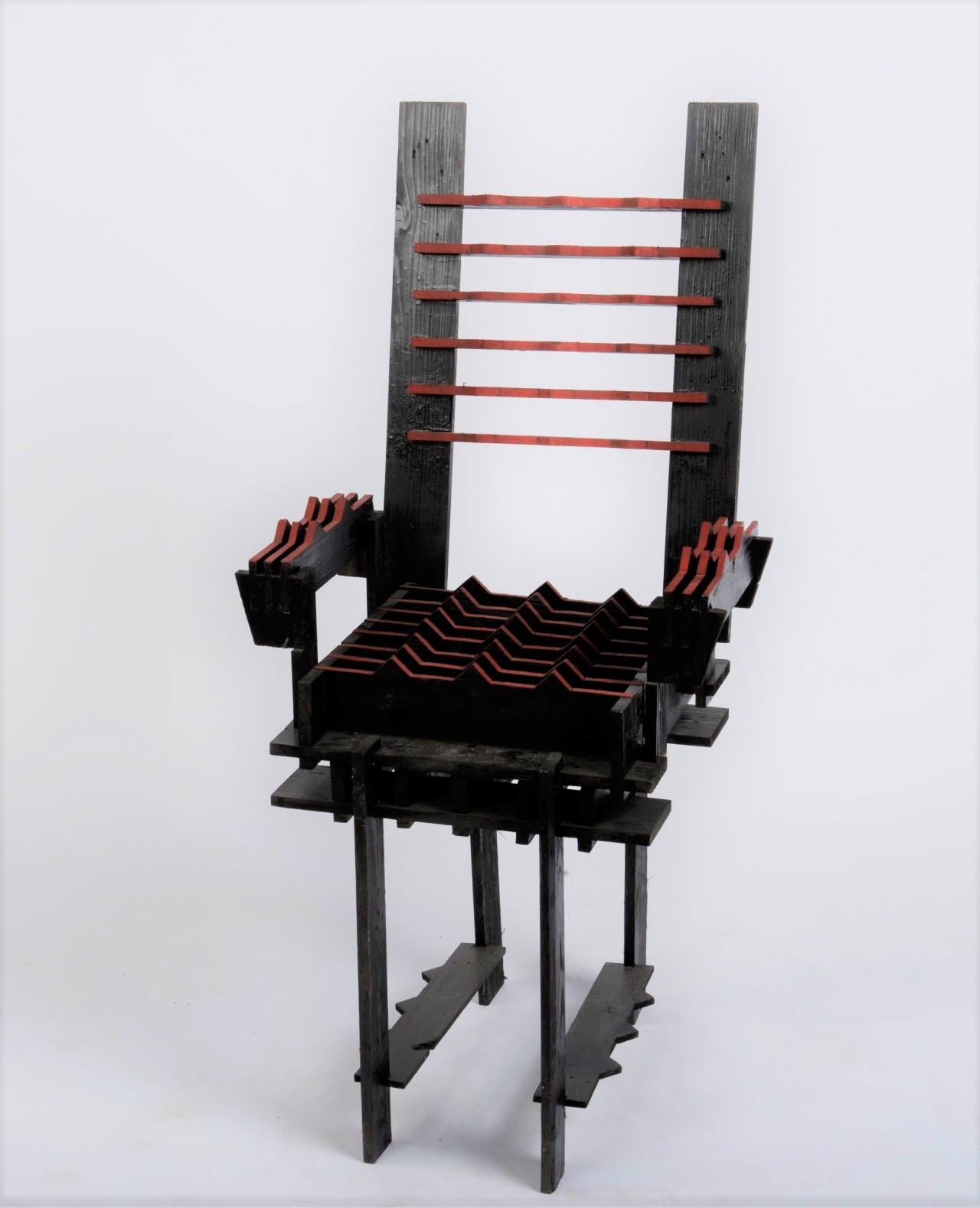 Pain Chair, 2014, wood
