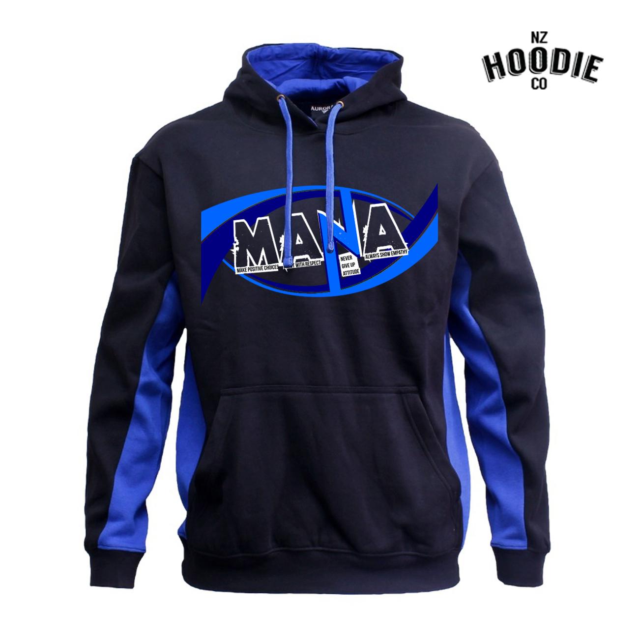 LARGE Mana Design on Aurora Matchpace Hoodie BLACK & ROYAL.jpg