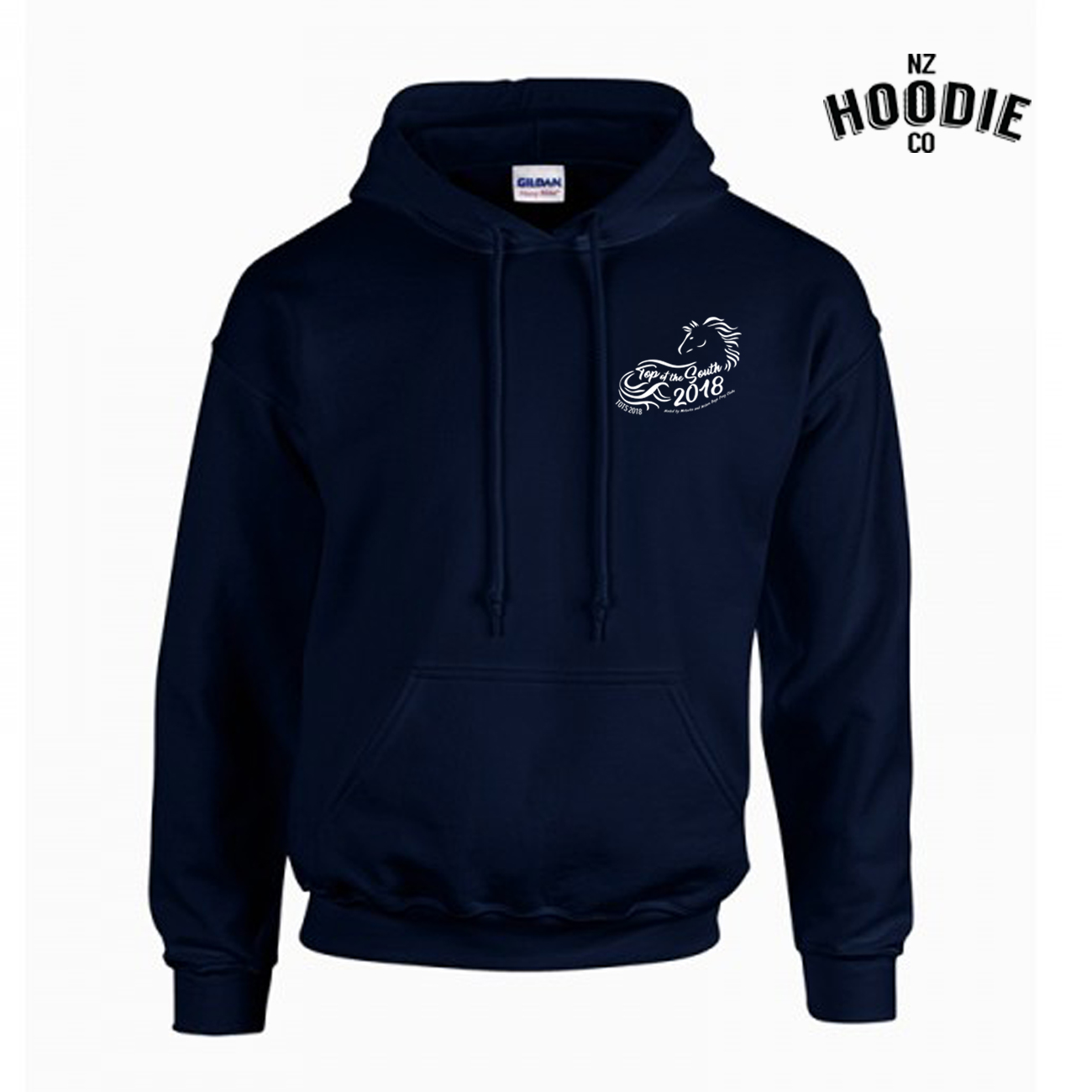 Top of the South navy hoodie FRONT one colour WHITE.jpg