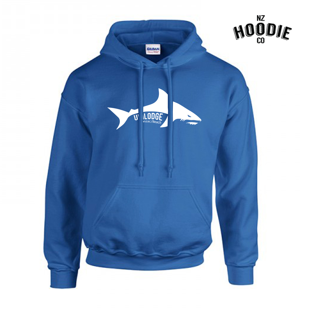 UniLodge Anzac Beach SHARK Gilden Hoodie FRONT (1).jpg