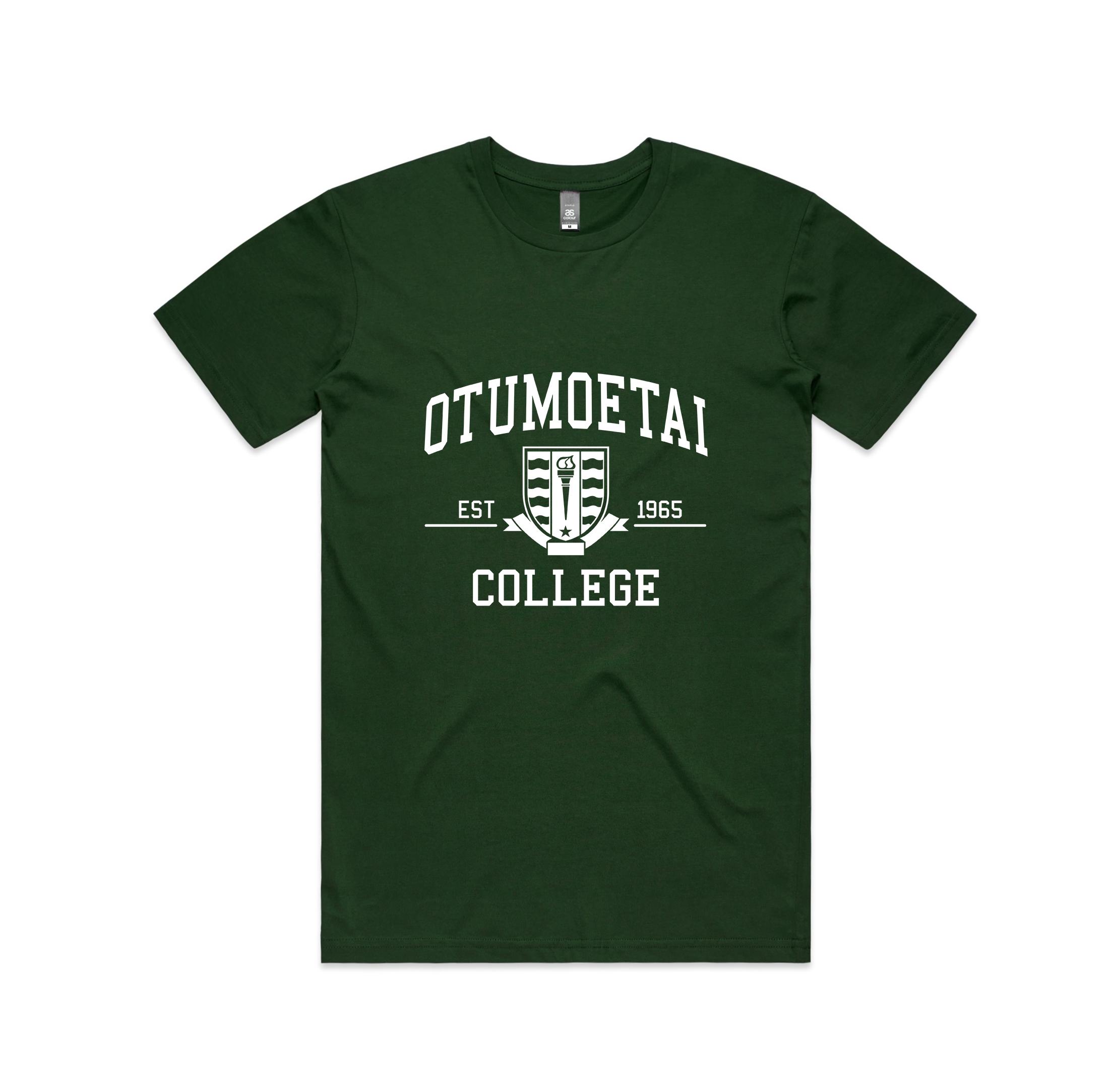 NZ Hoodie Co - Otumoetai College-Green Tshirt.jpg