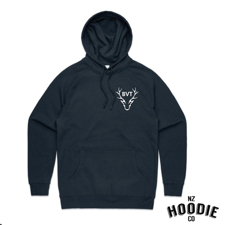 Navy hoodie front small logo.JPG