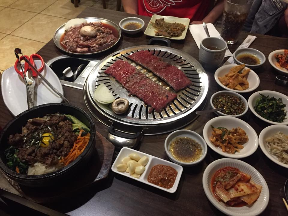 January 11, 2018, Tara and her son J and I were able to grab some Korean BBQ!